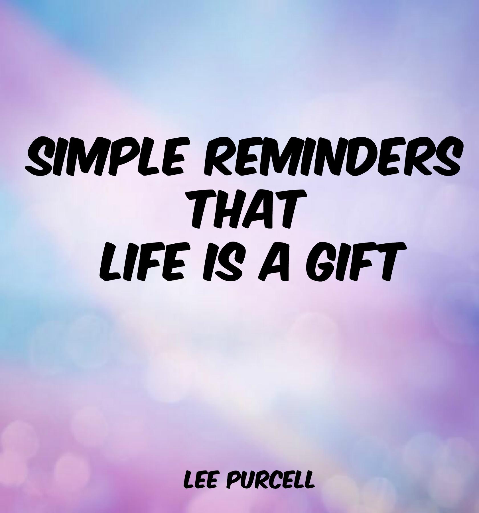 Simple Reminders Ebook