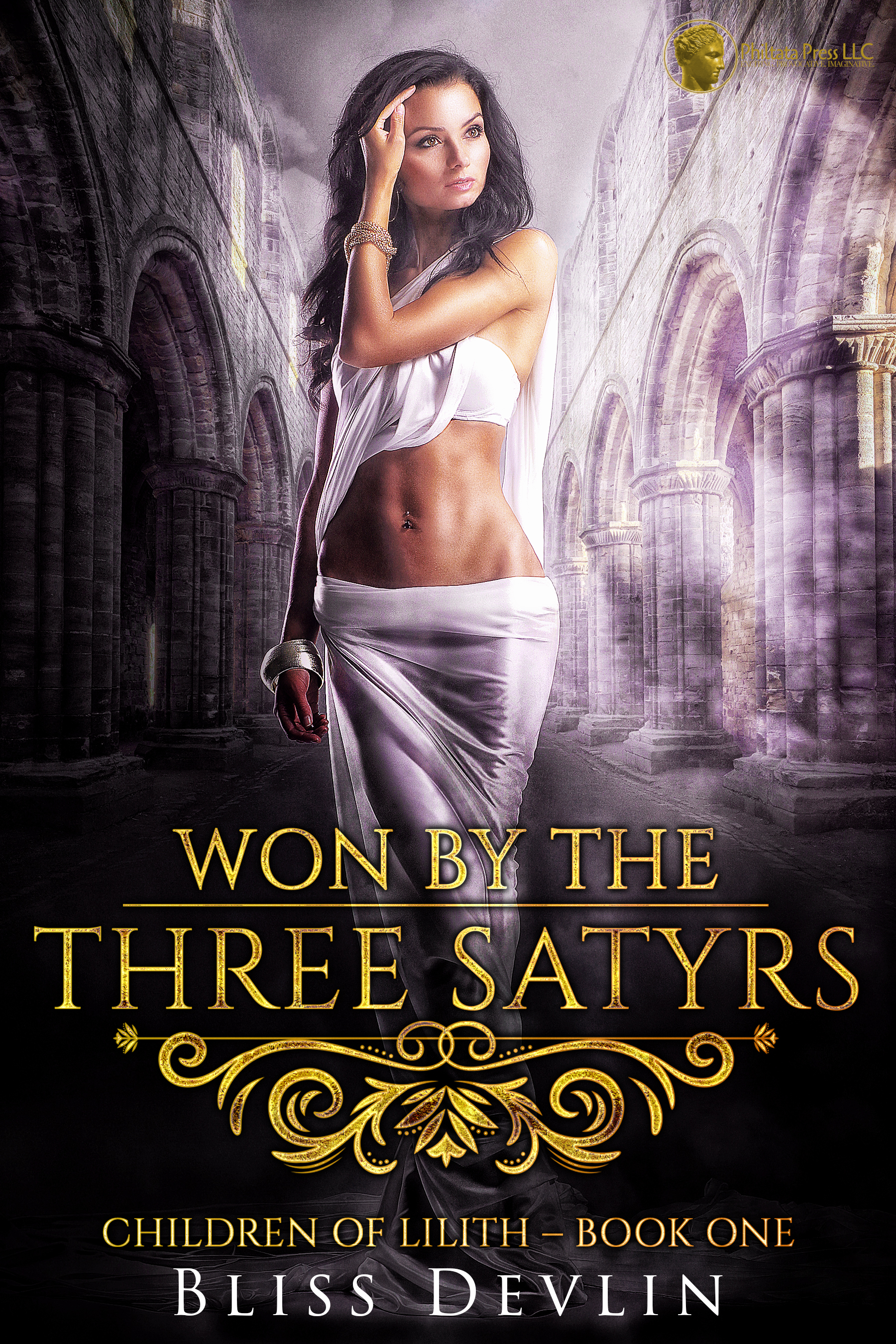 Won by the Three Satyrs (The Children of Lilith, Book 1)