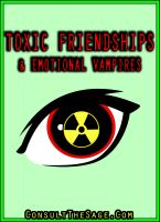 Cover for 'How To Deal With Emotional Vampires & Toxic Friends'