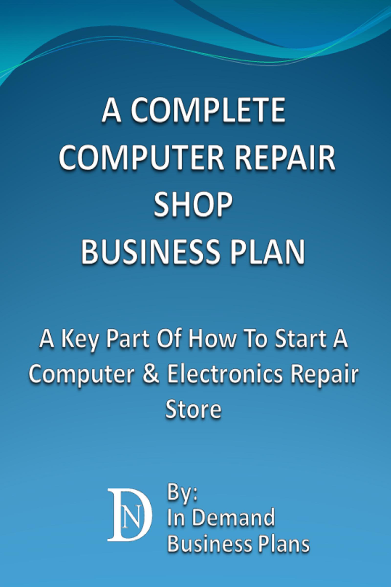 computer business plan