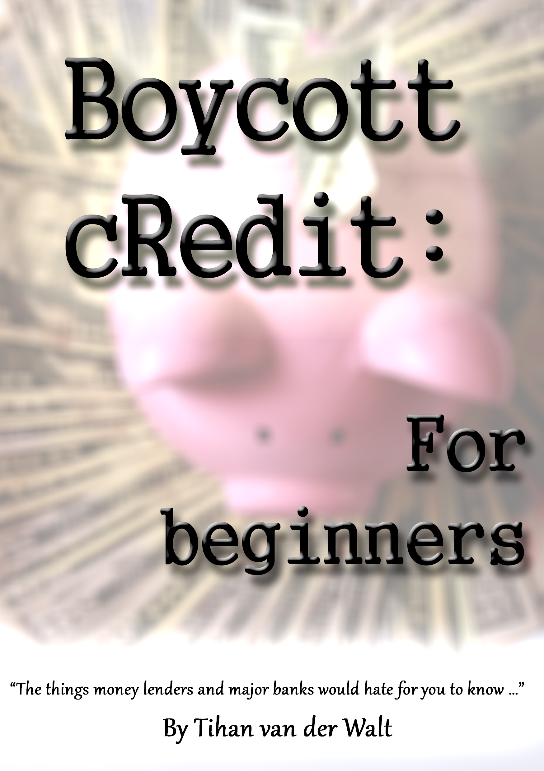 Buy 'Boycott cRedit: for Beginners'