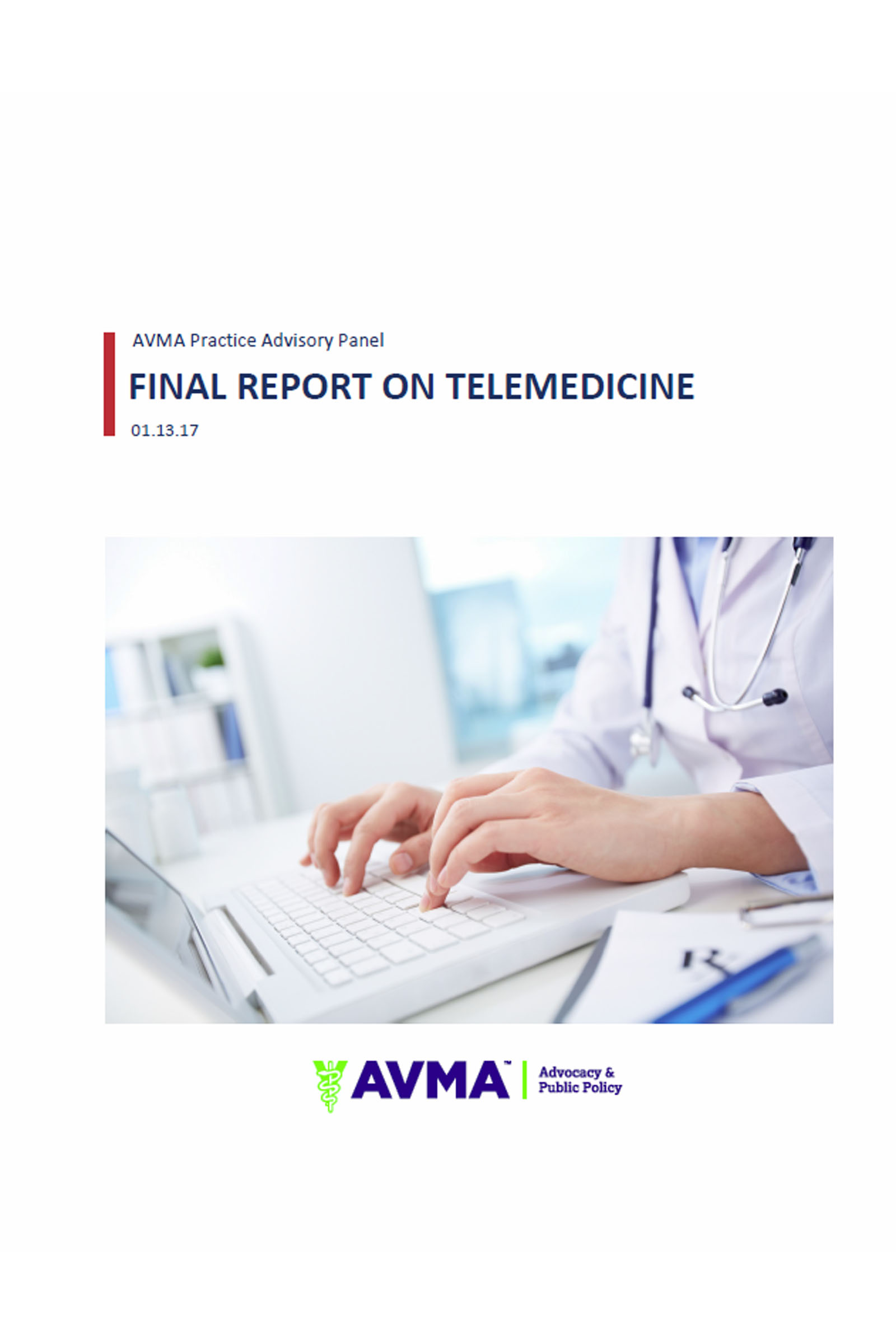 avma practice advisory panel final report on  avma practice advisory panel final report on telemedicine