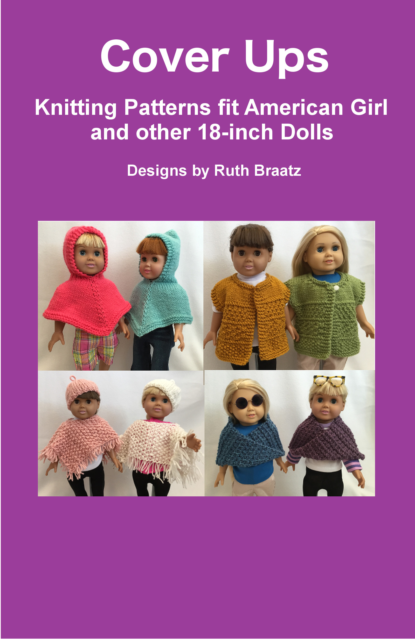Smashwords – Cover Ups - Knitting Patterns fit American Girl and ...