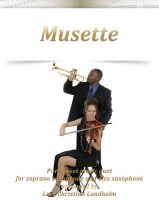 Pure Sheet Music - Musette Pure sheet music duet for soprano saxophone and alto saxophone arranged by Lars Christian Lundholm