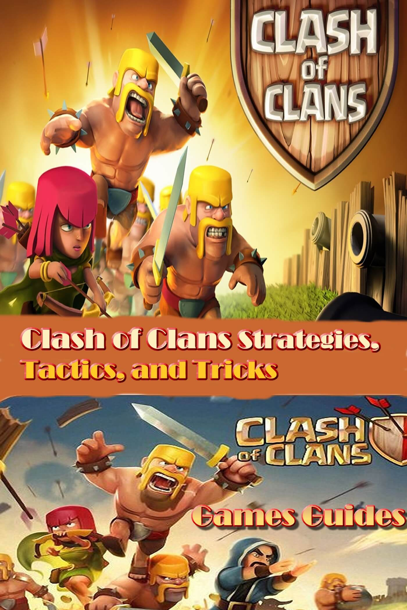 clash of clans guide book