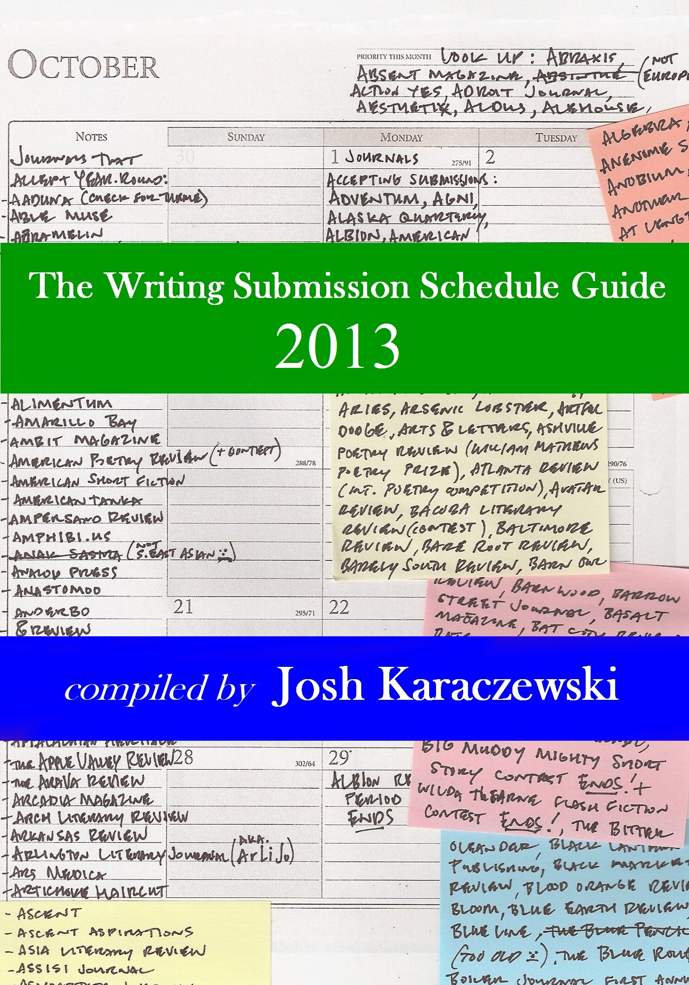 Smashwords – The Writing Submission Schedule Guide 2013 – a