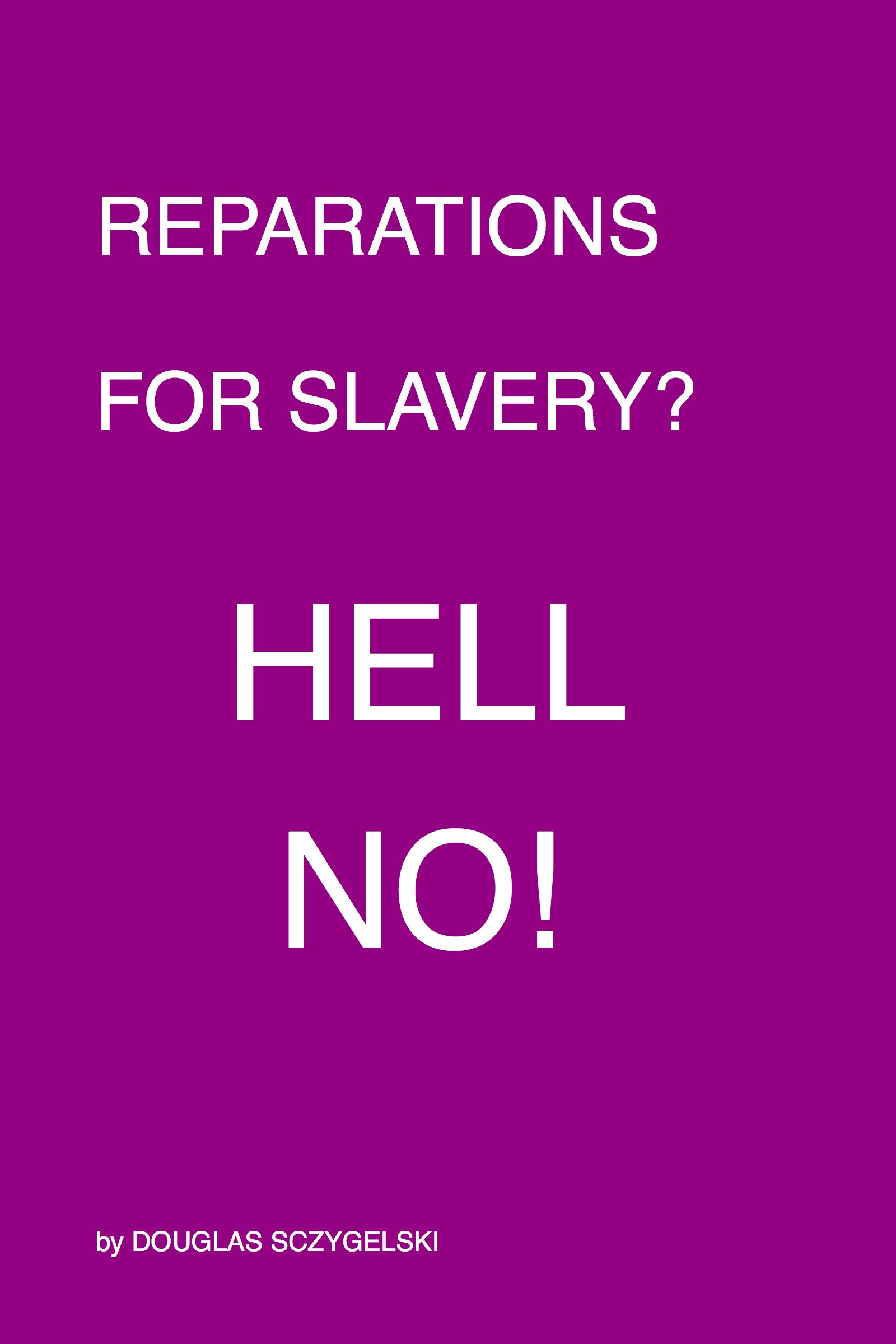 the idea of reparations A vast majority of white americans say there should not be reparations for african-american descendants of slaves, but more than half of blacks say it's a good idea and hispanics are almost evenly split, according to a new poll {snip} overall, 68 percent of americans say that reparations should.