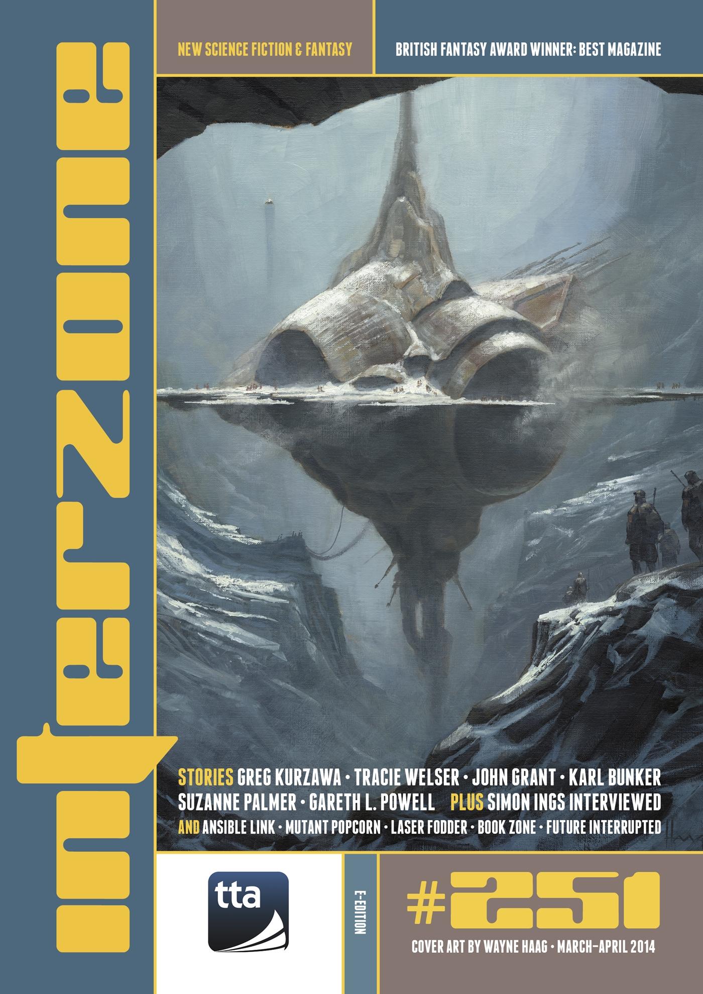 Smashwords – Interzone #251 Mar - Apr 2014 – a book by TTA Press