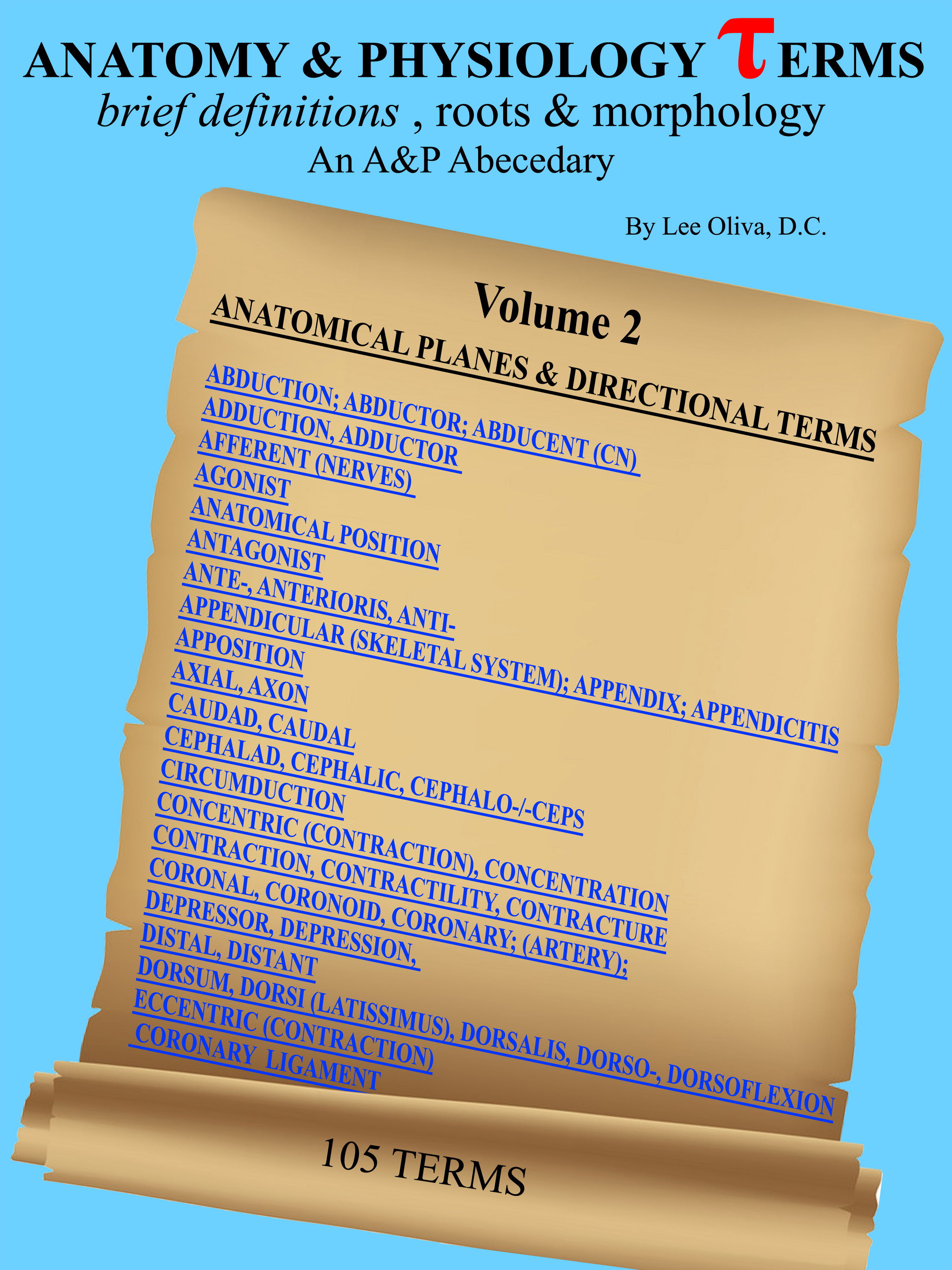 Anatomy and Physiology Terms: Brief Definitions, Roots & Morphology
