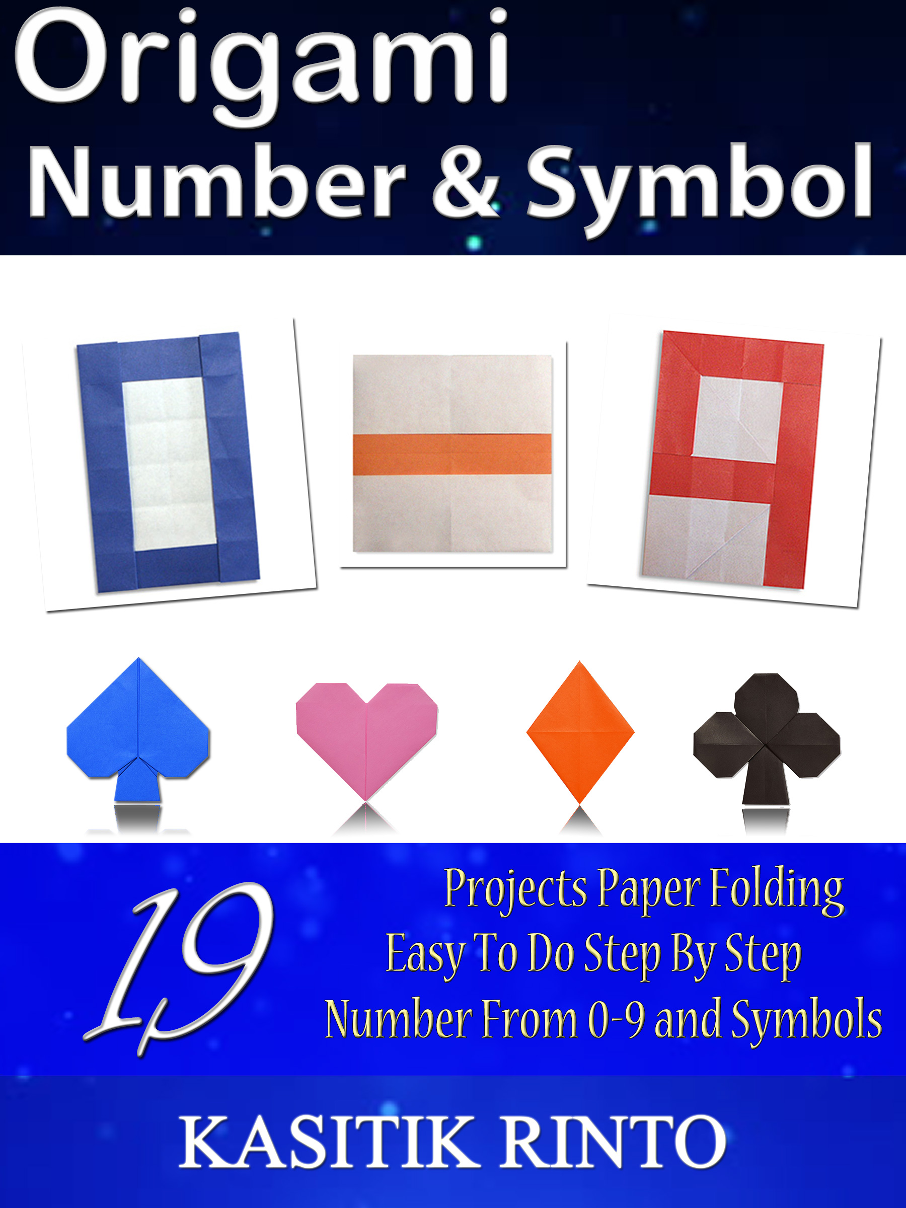 Smashwords Origami Number Symbol Paper Folding Number 0 To 9
