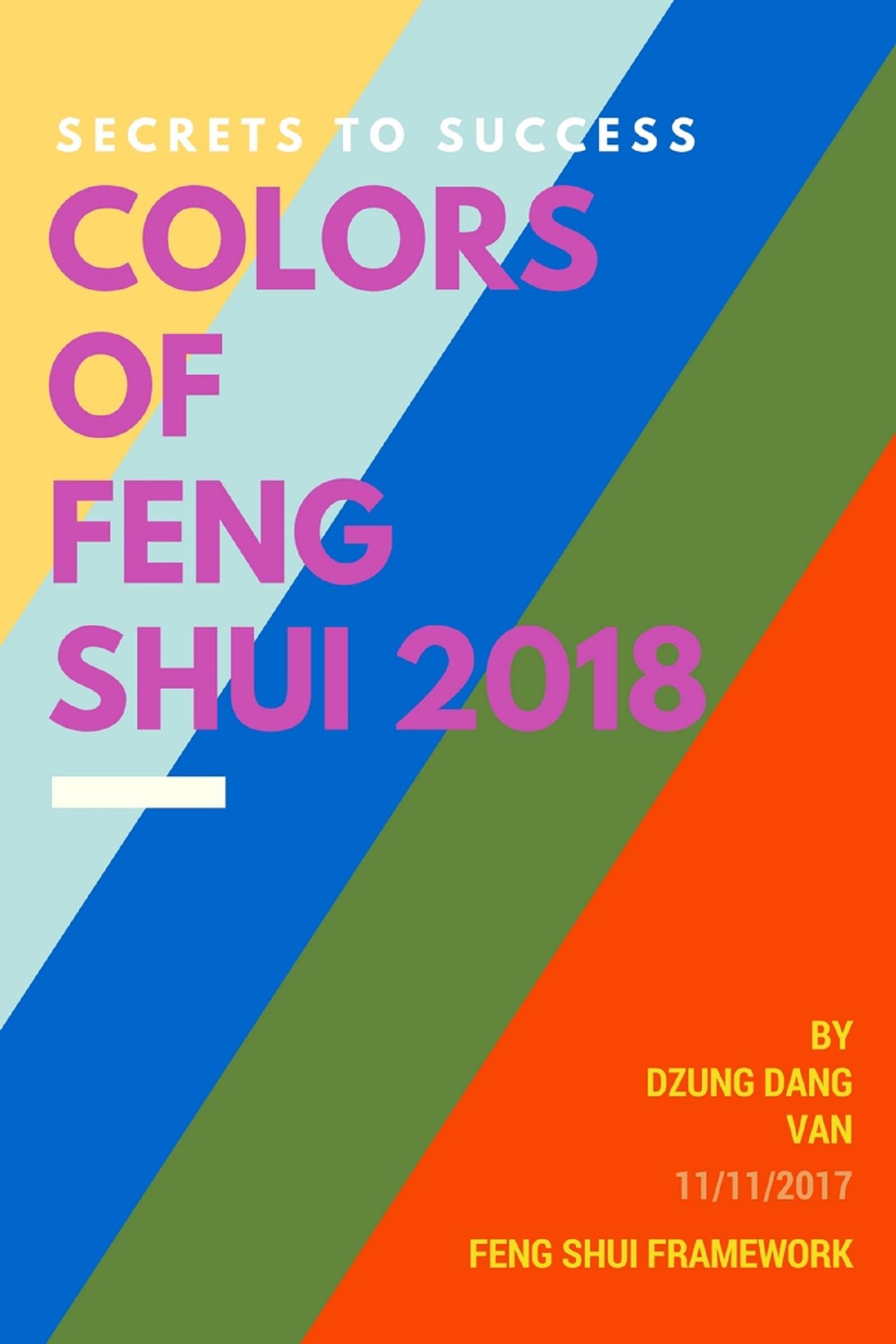 Smashwords secrets to success colors of feng shui 2018 Colores feng shui 2016