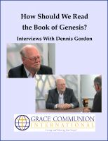 Cover for 'How Should We Read the Book of Genesis?  Interviews With Dennis Gordon'