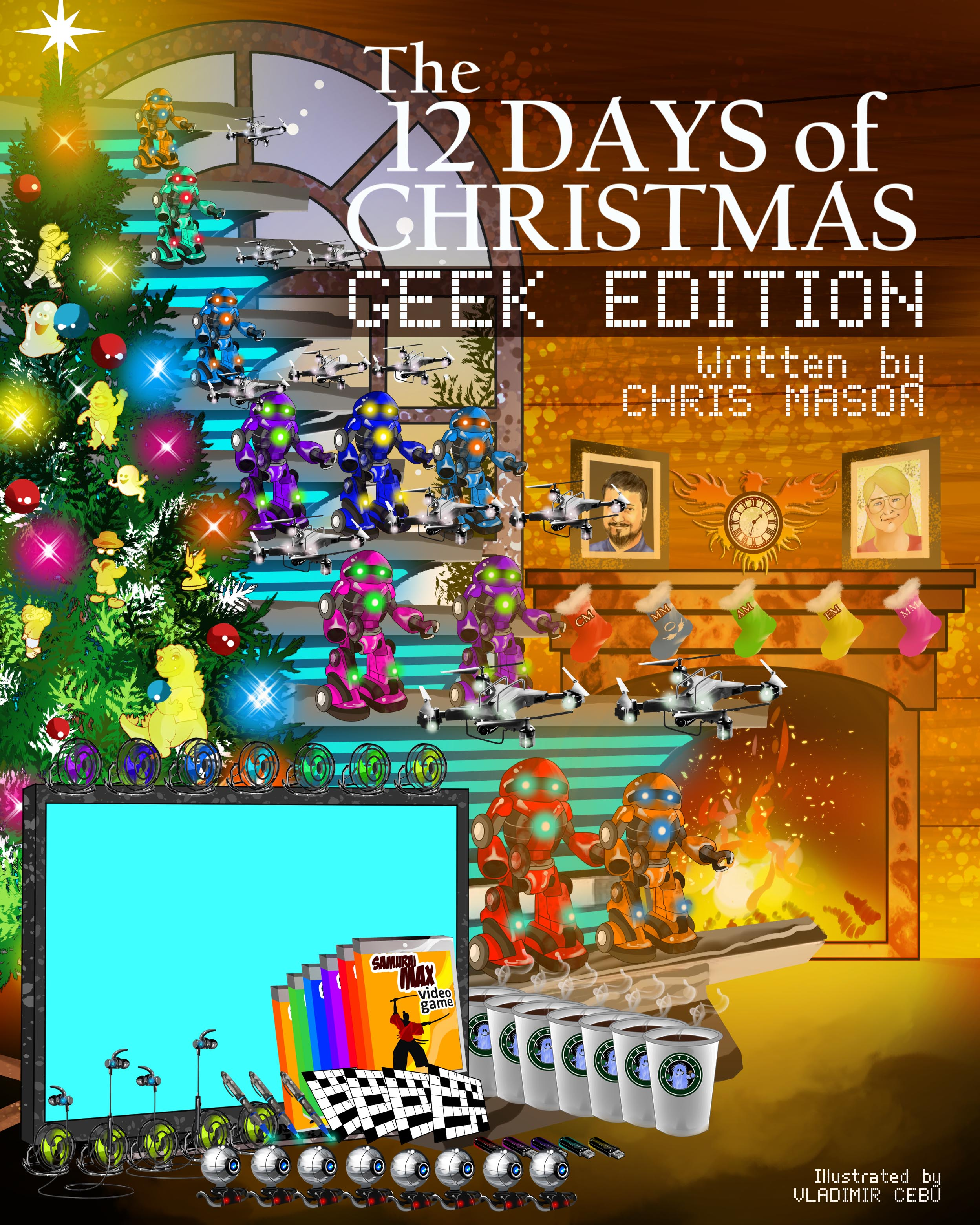 Geek Christmas.The 12 Days Of Christmas Geek Edition An Ebook By Chris Mason