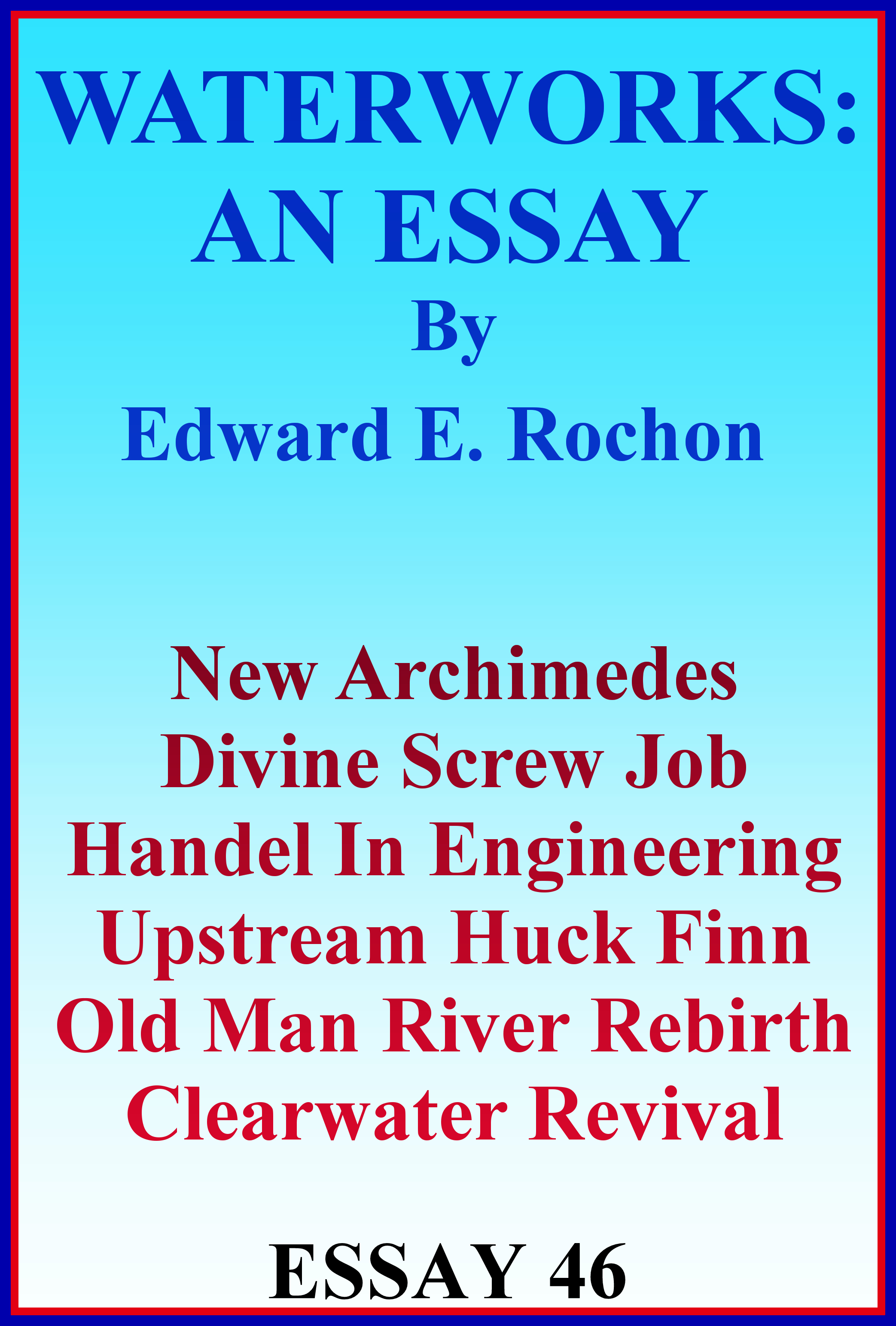 Archimedes essay