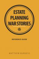 Estate planning war stories