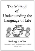 Cover for 'The Method of Understanding the Language of Life'