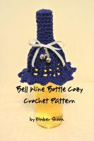 Kimber Shook - Bell Wine Bottle Cozy Crochet Pattern