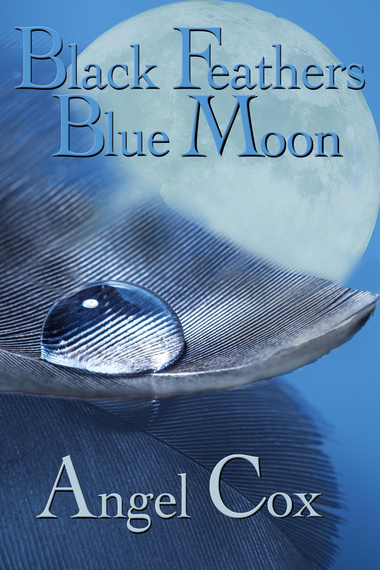 Aylen Moon black feathers blue moon, an ebookangel cox