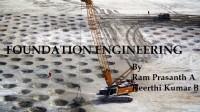 FOUNDATION ENGINEERING (CE2305)