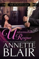 """Annette Blair - Untamable Rogue (Formerly """"A Christmas Baby"""") Book Four"""