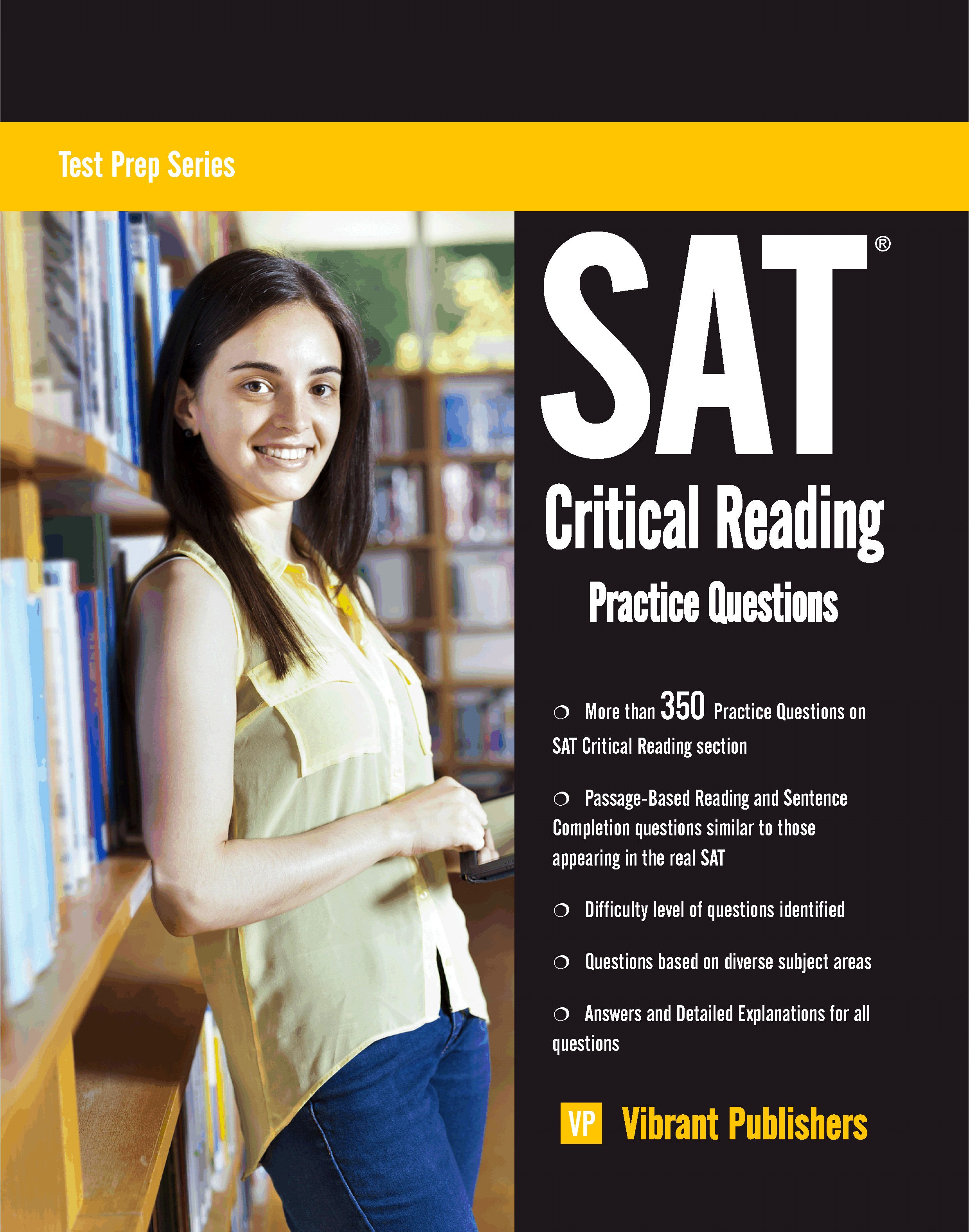 SAT Critical Reading Practice Questions, an Ebook by Vibrant Publishers