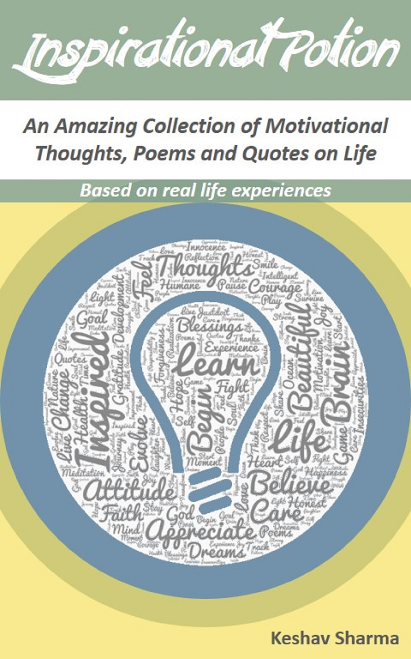 Real Life Poems Quotes Smashwords  Inspirational Potion  A Bookkeshav Sharma
