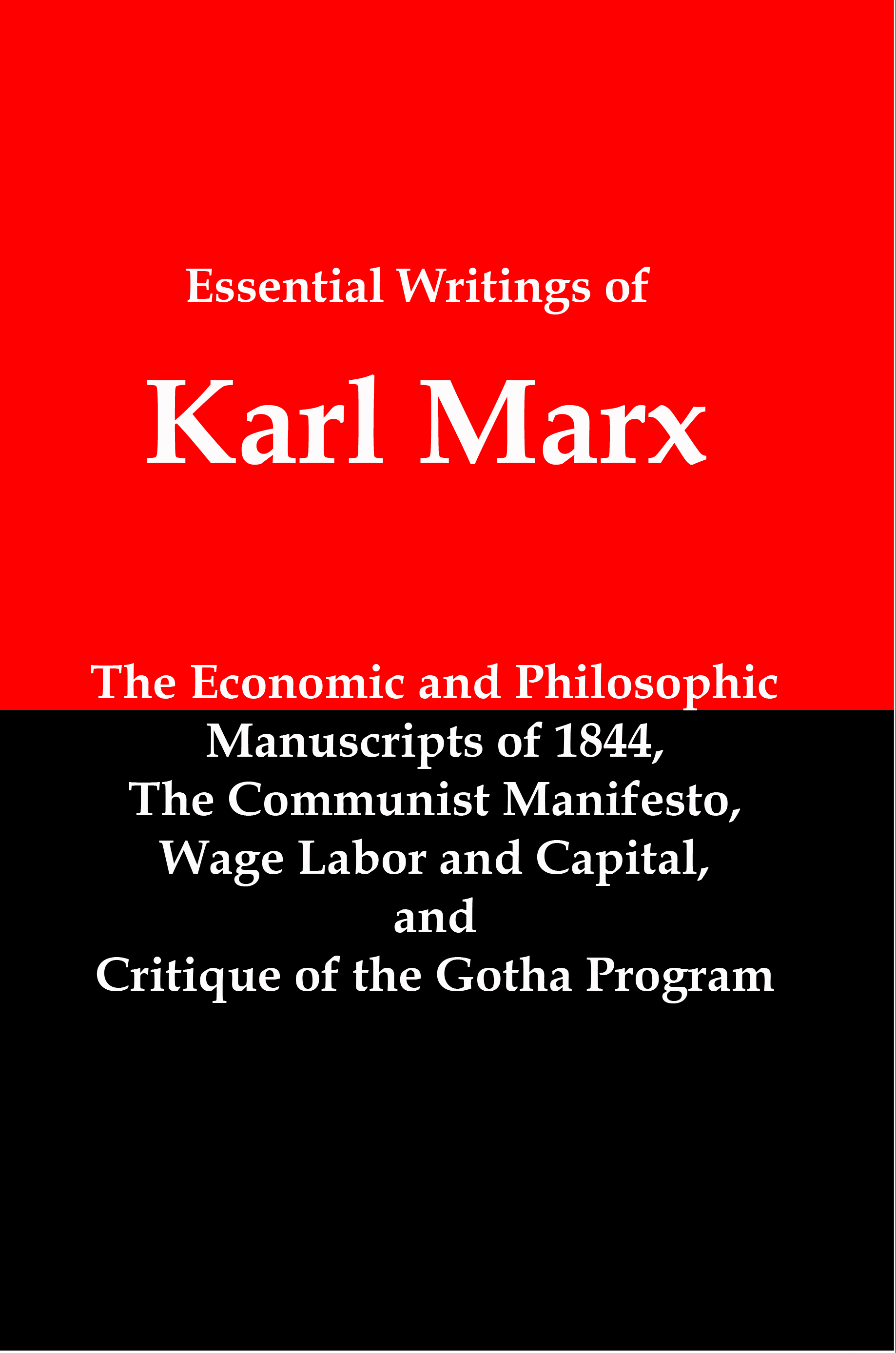 Smashwords – The Essential Writings of Karl Marx; Economic