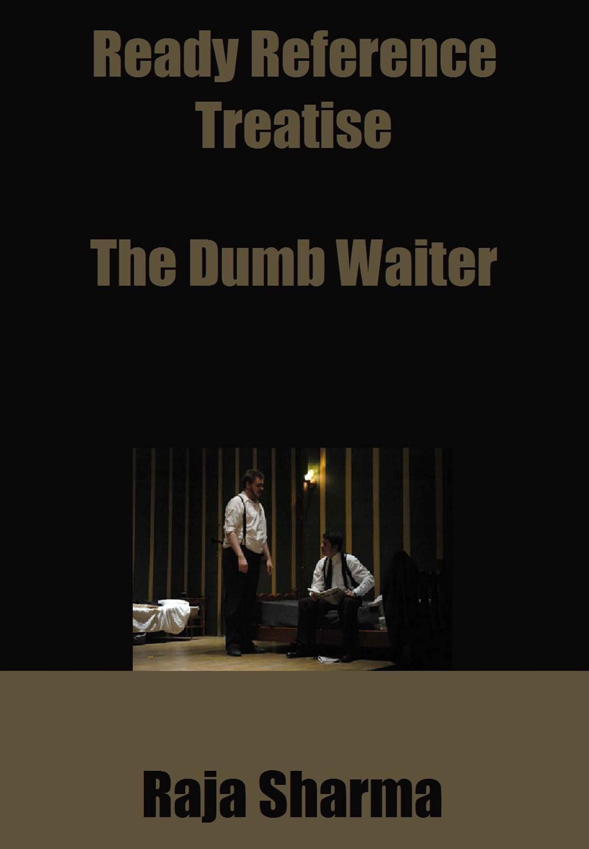 pinter essay waiter