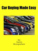Aaron Beauparlant - Car buying made easy