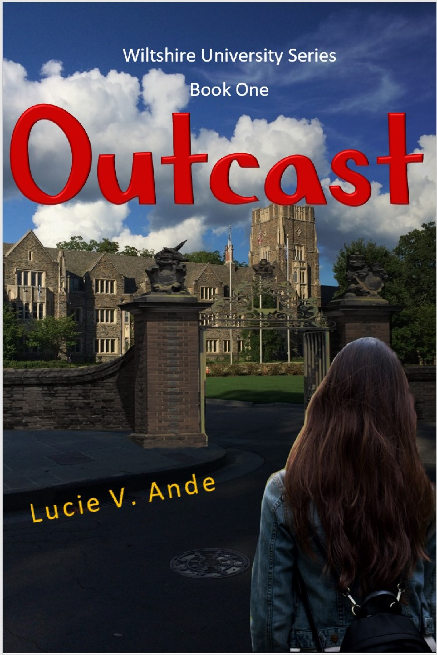 Outcast, an Ebook by Lucie Ande