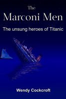 Cover for 'The Marconi Men'