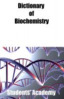 Cover for 'Dictionary of Biochemistry'