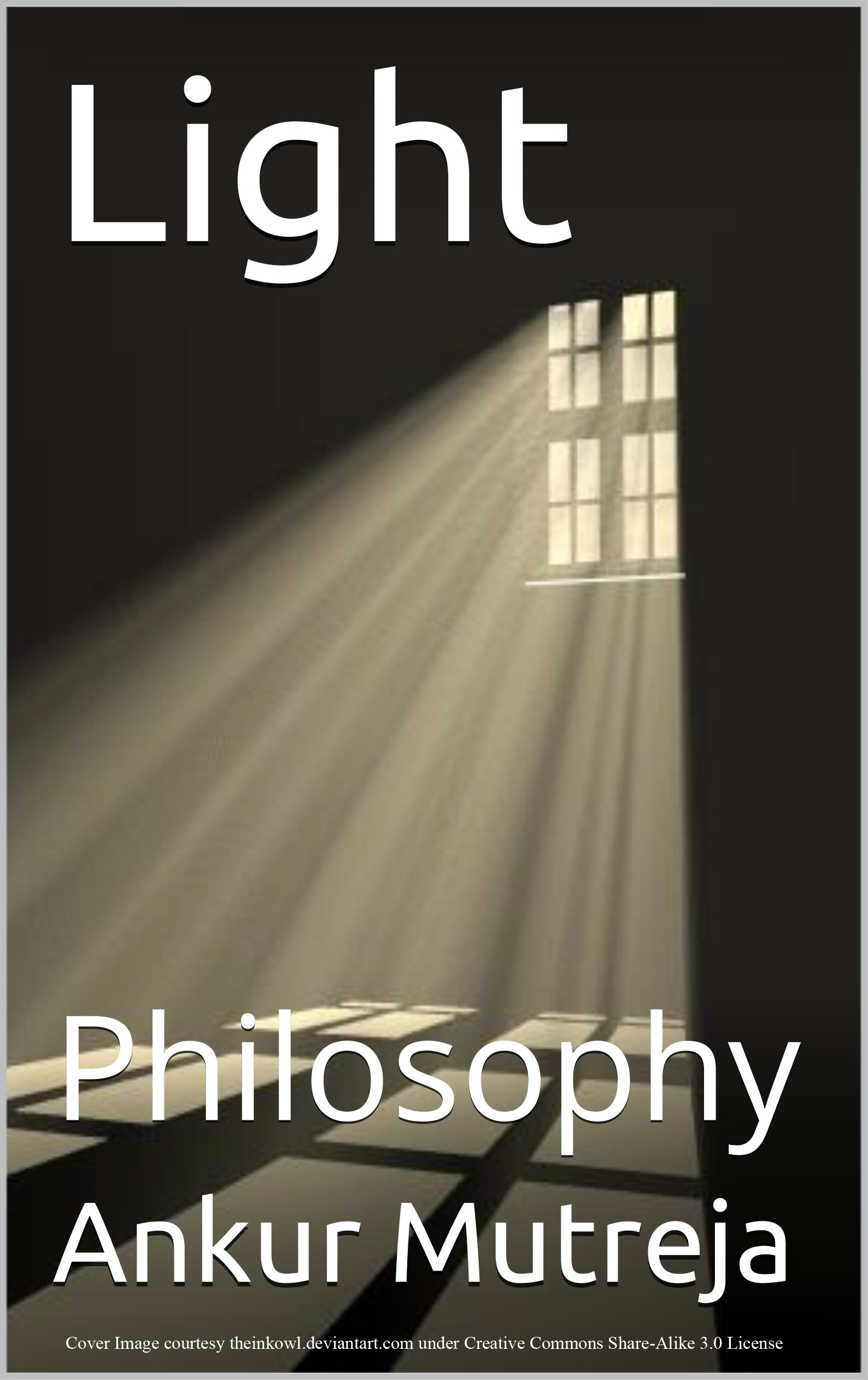 Book Cover Light: Philosophy