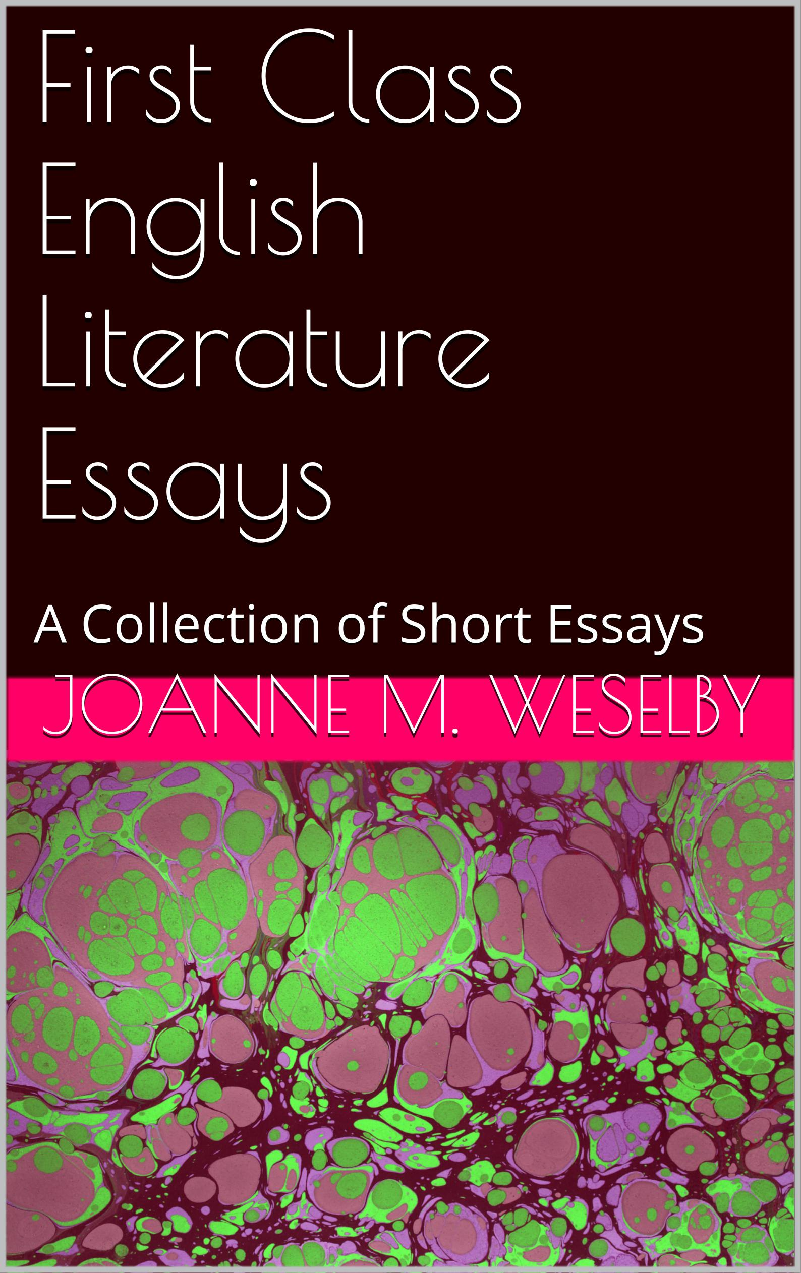 classics of english literature essays by barbara daniels Santa barbara city college survey of british literature: love and marriage english literature are confronted with a vast resource of readings.