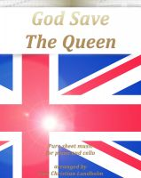 Pure Sheet Music - God Save The Queen Pure sheet music for piano and cello arranged by Lars Christian Lundholm