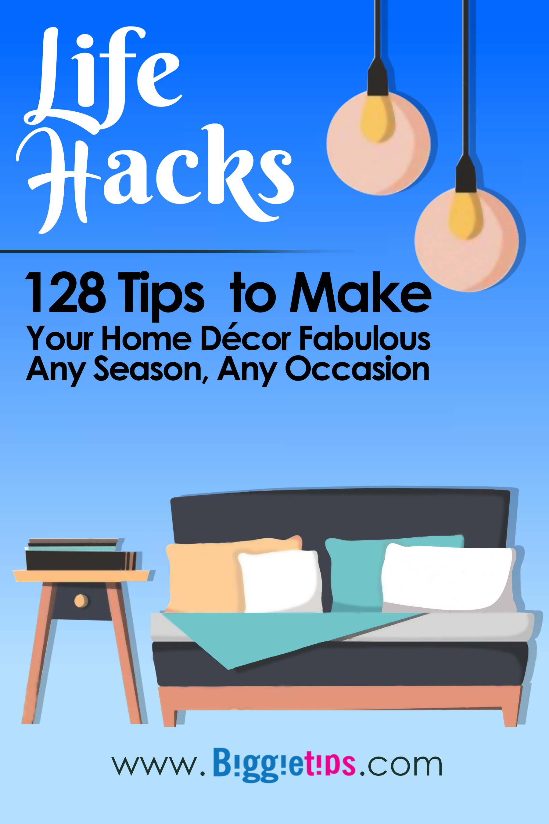 Smashwords Life Hack 128 Tips To Make Your Home Decor Fabulous