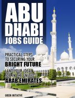 Cover for 'The Abu Dhabi Jobs Guide - Practical Steps to Securing a Job in Abu Dhabi'
