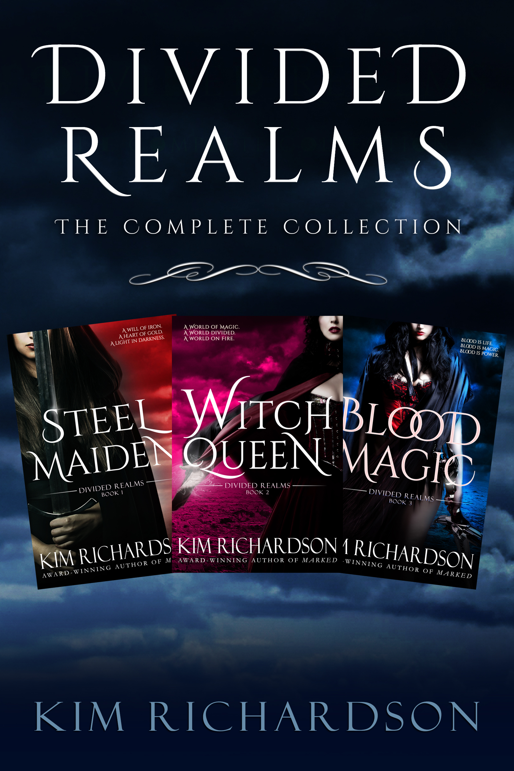 Divided Realms, The Complete Collection: Steel Maiden, Witch Queen, Blood  Magic, an Ebook by Kim Richardson