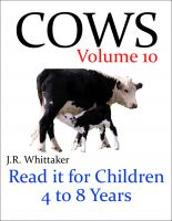 J. R. Whittaker - Cows (Read it book for Children 4 to 8 years)