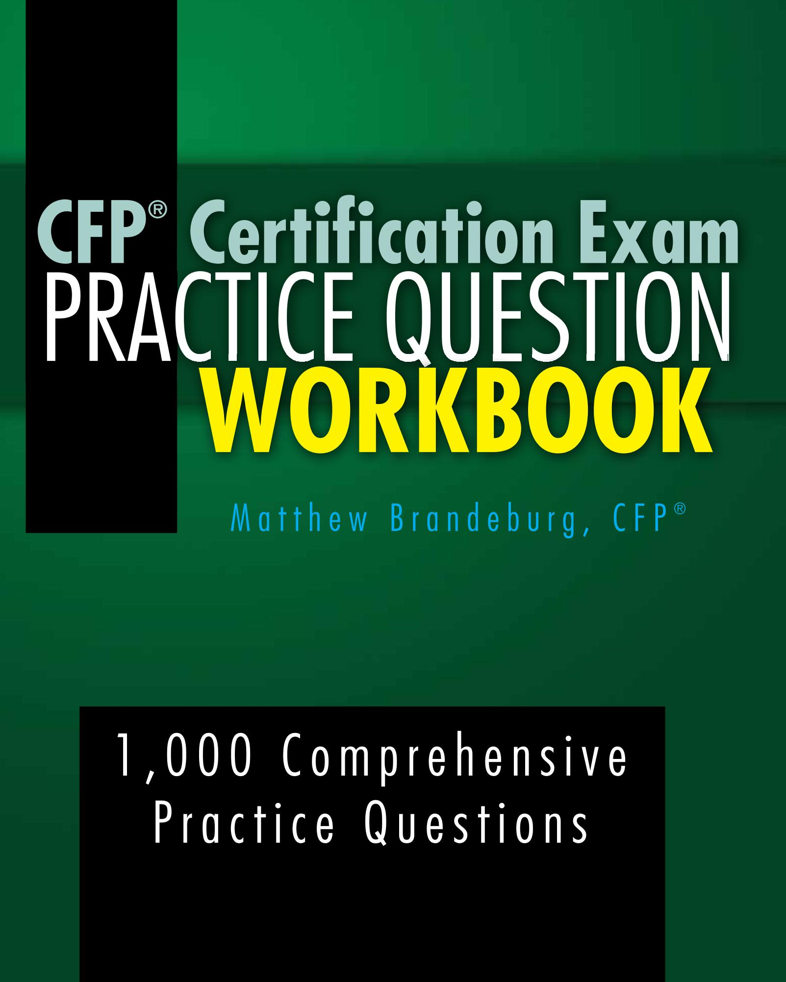 Smashwords Cfp Certification Exam Practice Question Workbook