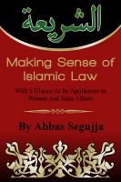 Cover for 'Making Sense of Islamic Law'