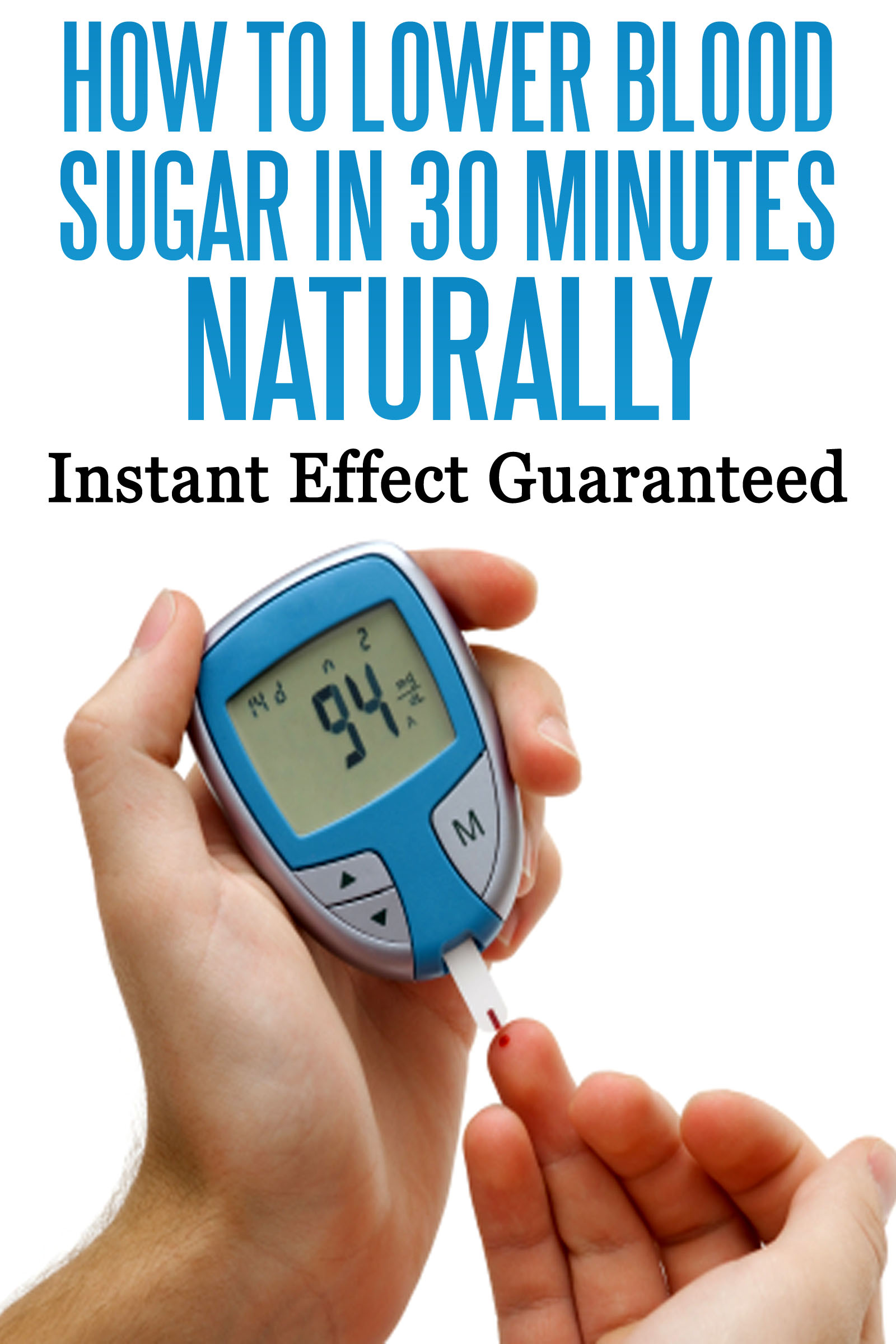 Can I Lower My Blood Sugar Naturally