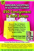 Cover for 'Bargain Shopping in Southeast Florida: 250 Consignment & Thrift Shops in Boca Raton, Palm Beach, Fort Lauderdale, Miami & More'