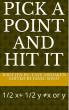 Pick A Point And Hit It by Taye Abidakun