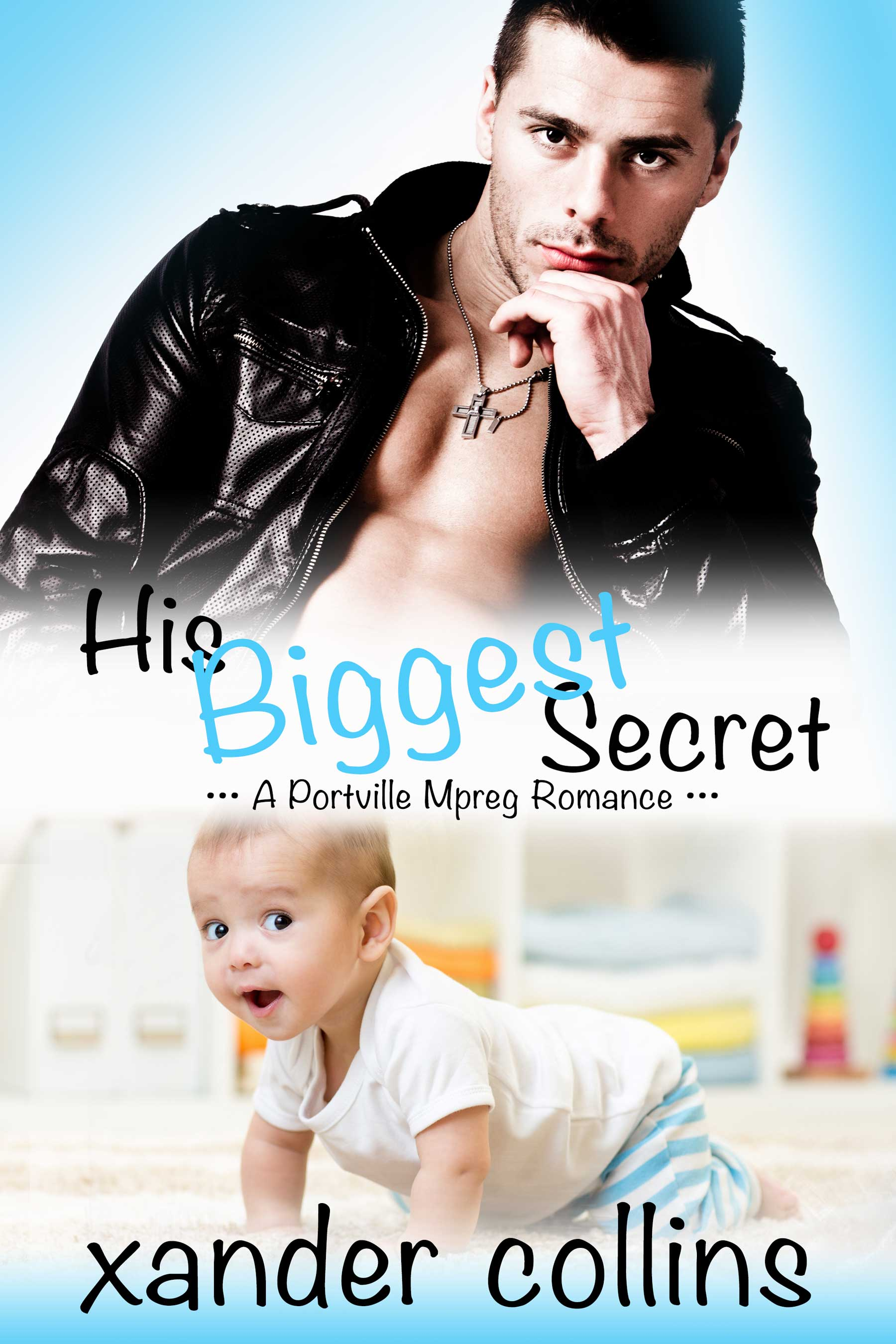His Biggest Secret (Portville Omegaverse #1)