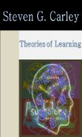 Cover for 'Theories of Learning'
