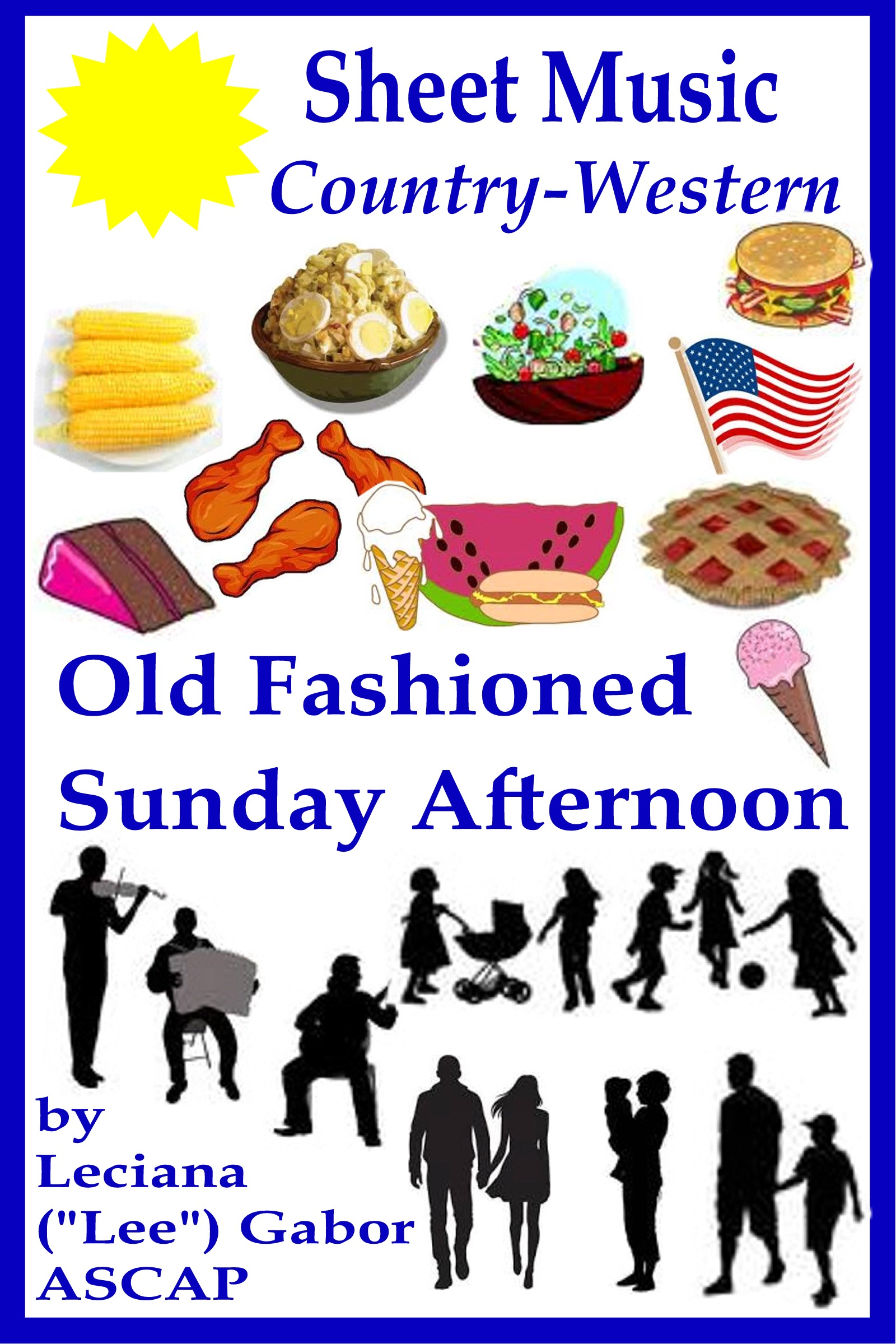 Old Fashioned Book Covers : Smashwords sheet music old fashioned sunday afternoon