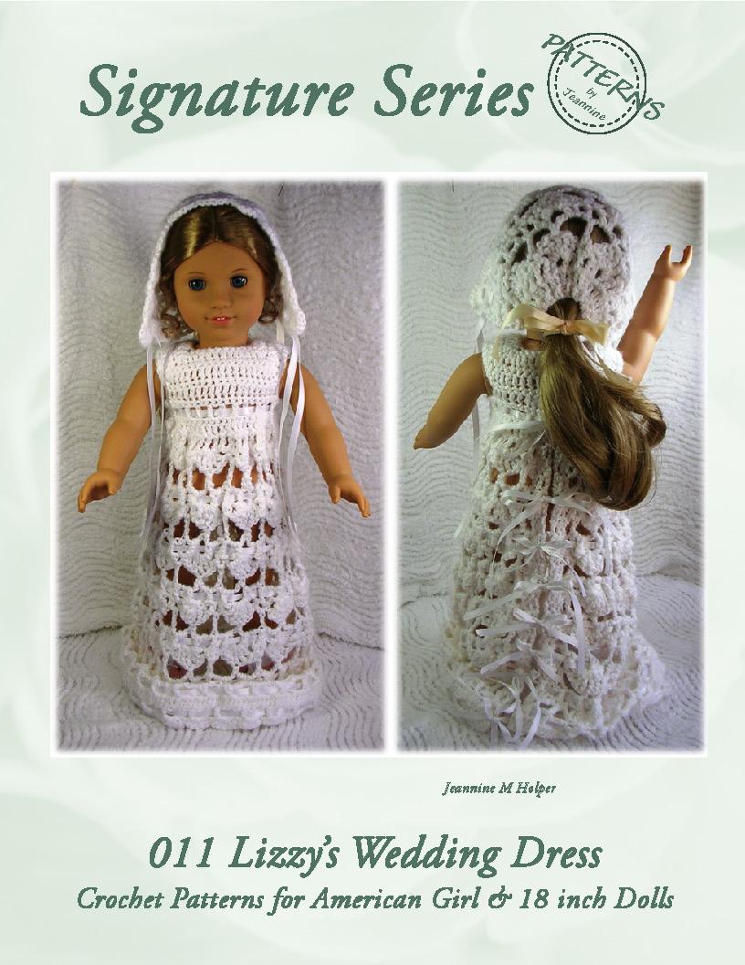 Smashwords 011 Lizzys Wedding Dress Ensemble Crochet Pattern For