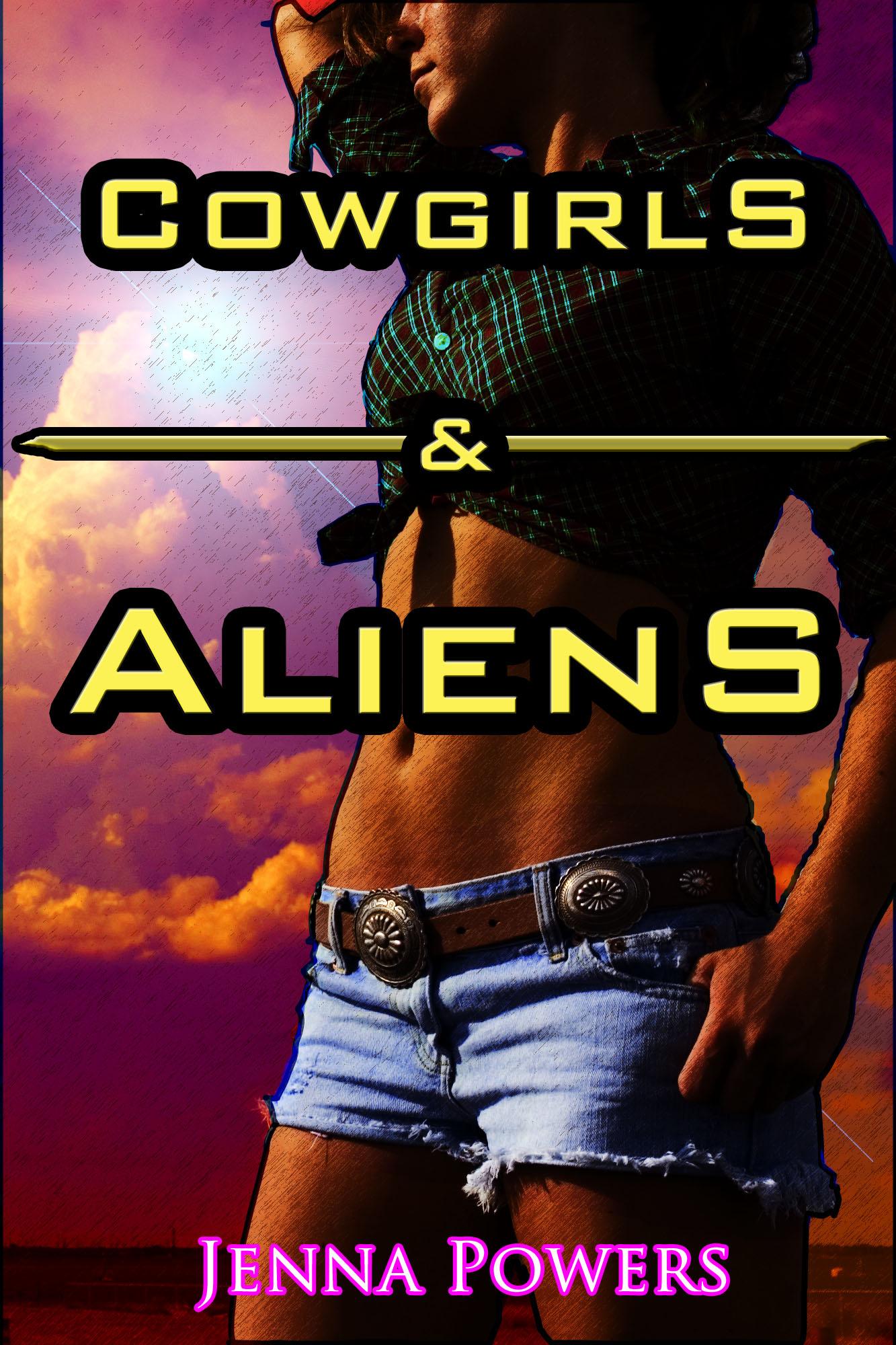 Alien Gangbang cowgirls and aliens (alien gangbang sex), an ebookjenna powers
