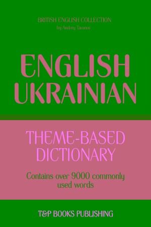 Theme-based dictionary British English-Spanish - 9000 words (British English Collection)
